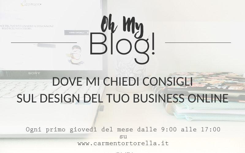 Oh My Blog!#1 – Consigli sul design del tuo business online